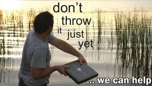 Don' Throw it just yet!
