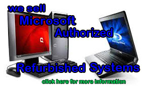 Microsoft Authorized Refurbished Systems