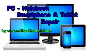 PC, Notebook, Smartphone, & Tablet Repair